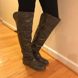 Shoes - Fashion Riding Boots Women's Size 8